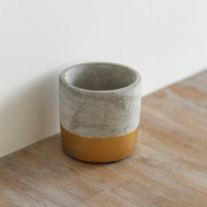 concrete pot event