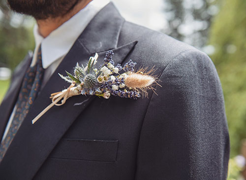 school prom college prom mens buttonhole