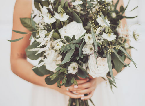 wedding flowers white wedding package norfolk