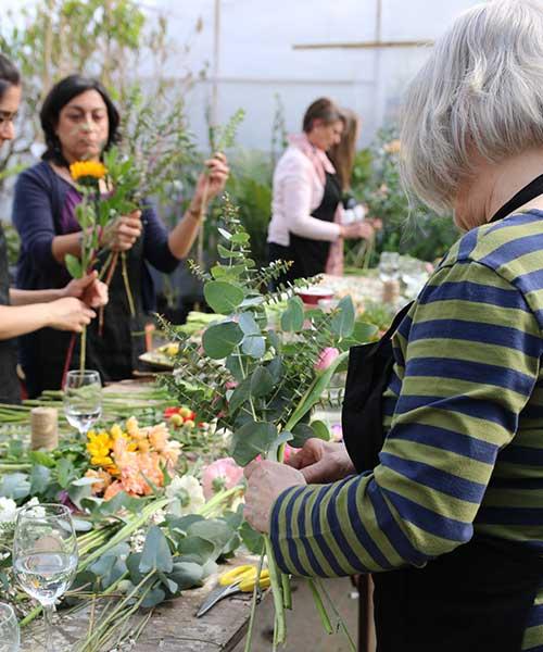 Mothers Day Floral Workshop Norwich Norfolk