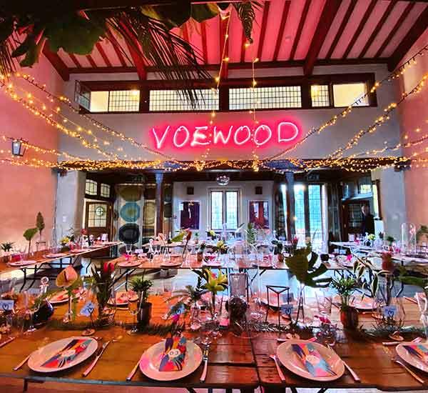 Norfolk wedding florist tables decor