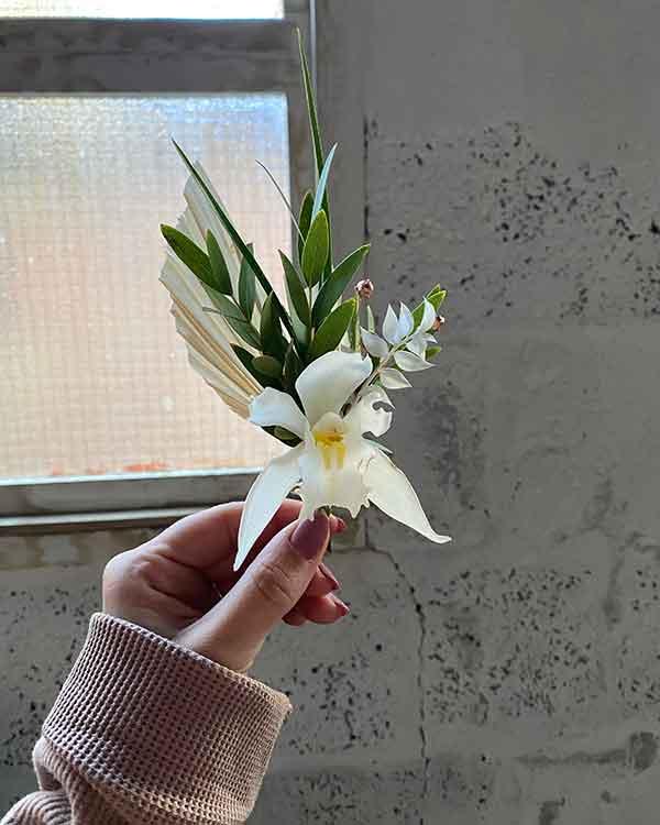 norfolk florist buttonhole