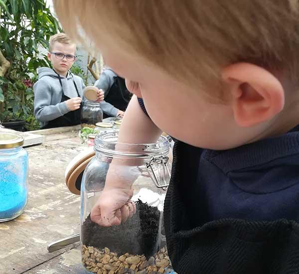 kids terrarium