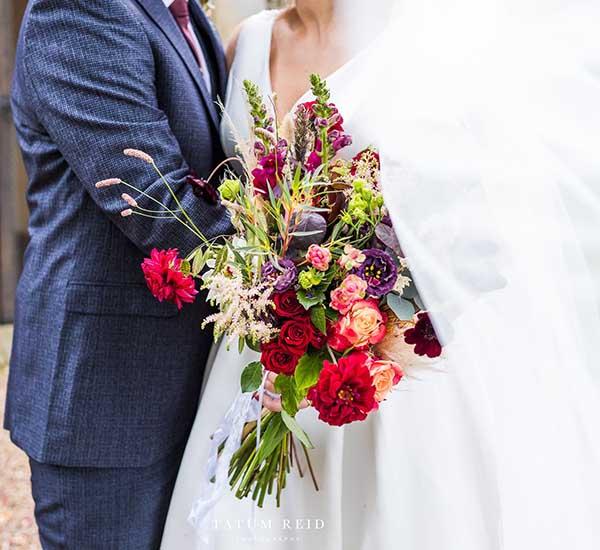 wild flower wedding norfolk